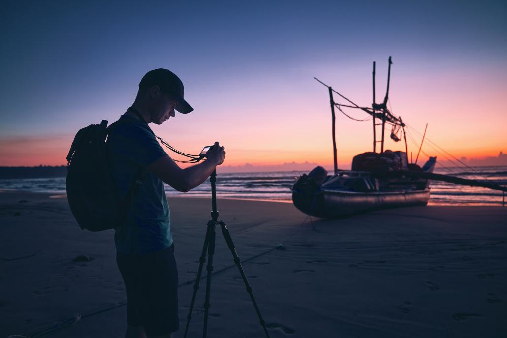 photo viideo content beach resort marketing